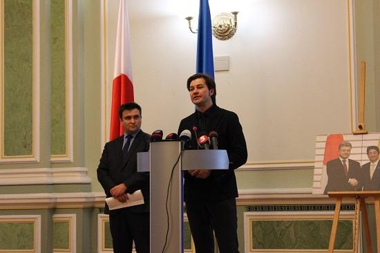 ウクライナ外務省と在ウクライナ...